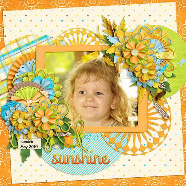 Kendra May 2010 - Sunshine